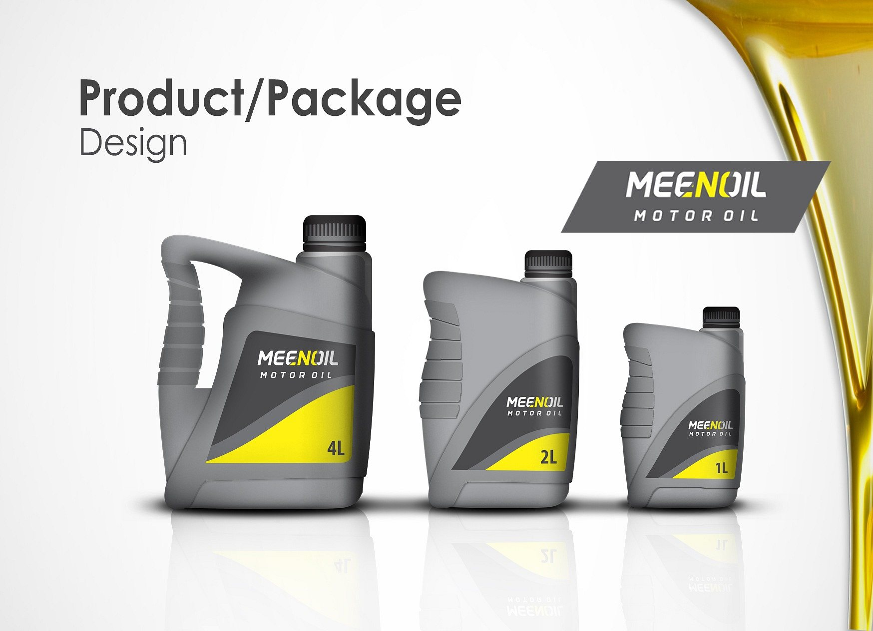 Cal Investment: MeenOil Container and Product Design